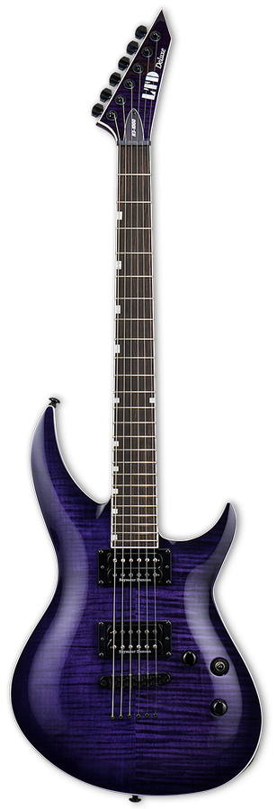 LTD H3-1000 SEE THRU PURPLE SUNBURST фото 0